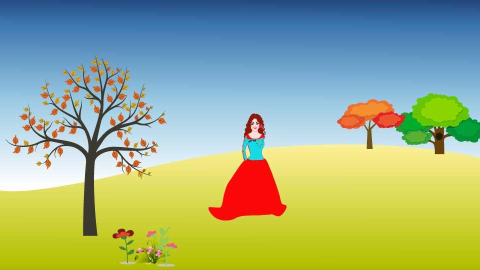 Harika Bir Masal Olan Altın Yürekli Kız Masalı oku
